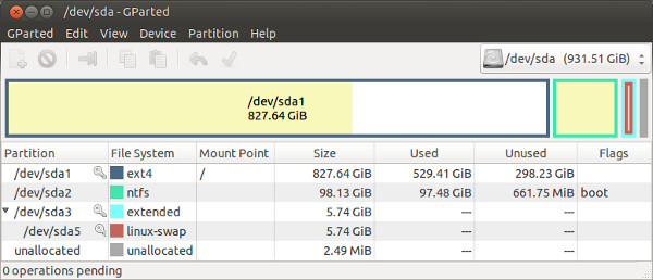 Active  Partition Recovery as a part of LiveCD Quick Guide IceWM and startx